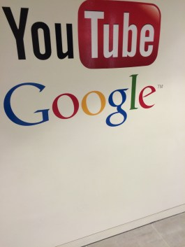 The entrance to Google and You Tube offices